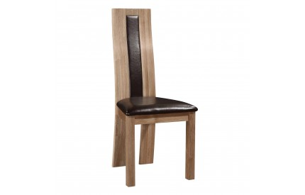 Ontaro Dining Chair Solid Oak Natural