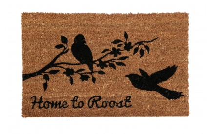 Home to Roost Doormat PVC Backed Coir
