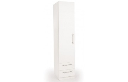 Arrow 1 Door 2 Drawer Wardrobe