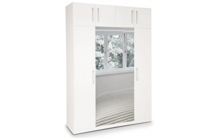 Arrow Plus 4 Door Mirror Wardrobe