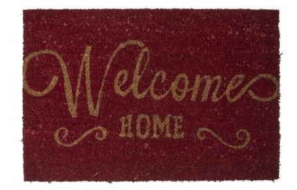 Welcome Home Doormat PVC Backed Coir