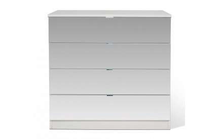 Shino All Mirror 4 Drawer Chest