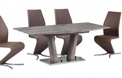 Marto Walnut Extending Dining Table Large