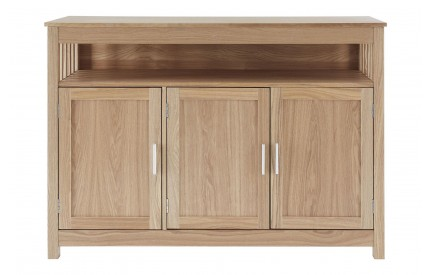 Helda Ash/Oak Sideboard 3 Door