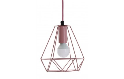 Beli Pendant Light Metal Wire Pink