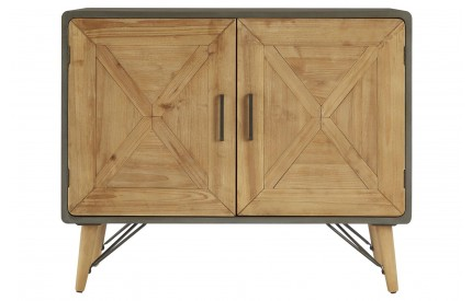 Trinity 2 Door Solid Wood Sideboard Iron