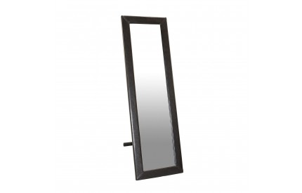 Brown Leather Cheval Mirror