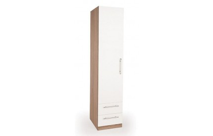 Lye 1 Door 2 Drawer Wardrobe