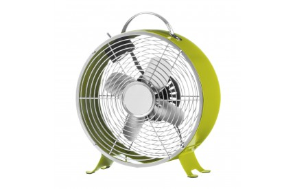Retro Desk Fan 2 Speeds Lime Green