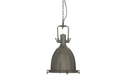 Lexwork Pendant Light Gunmetal/Glass Large