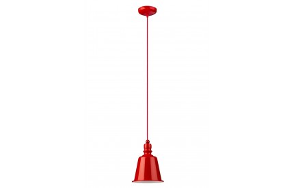 Pagoda Pendant Light Red