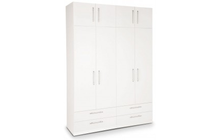 Arrow Plus 4 Door 4 Drawer Wardrobe