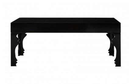 Luis Coffee Table MDF Black High Gloss