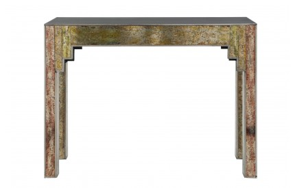 Deco Console Table Gold Effect