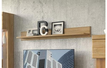 Cortina Wall Shelf 156cm Oak