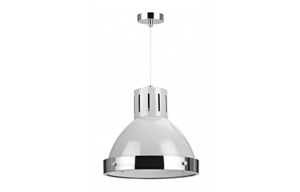 Alps Pendant Light Flint Grey Chrome