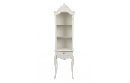 Chateau Chantilly Unit 3 Shelf/With Drawer MDF/Solid Wood Legs