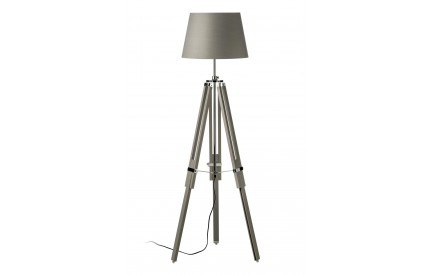 Martino Floor Lamp Tripod Base Grey