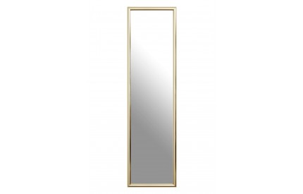 Over Door Mirror Gold Plastic Frame