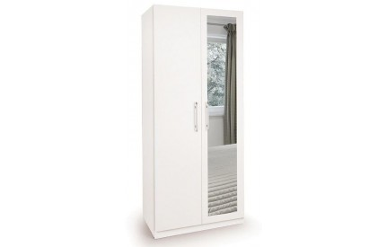 Arrow 2 Door Mirror Wardrobe