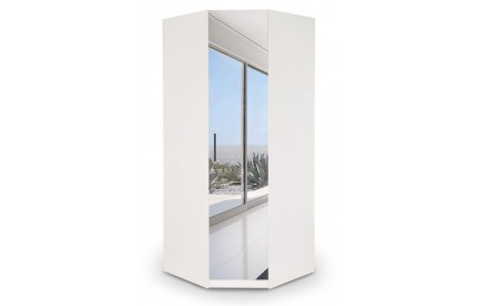 Arrow Mirror Corner Wardrobe