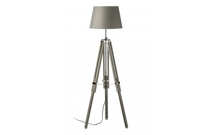 Martino Floor Lamp Grey Tripod Base EU Plug