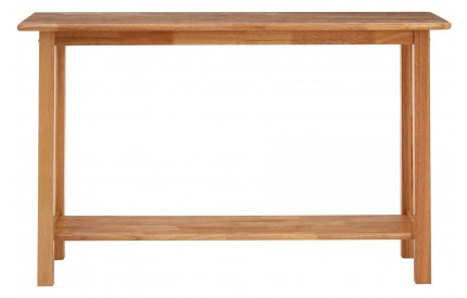 Console Table Rectangular Rubberwood