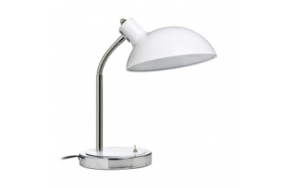 Flexible Desk lamp Metal White