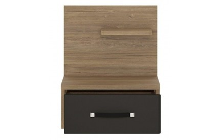 Monaco 1 Drawer bedside (RH)
