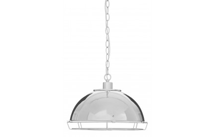 Indigo Pendant Light Chrome Iron