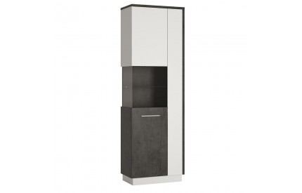 Zingaro Tall display cabinet (LH)