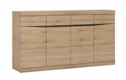 Kensington Wide 4 Drawer 4 Door Sideboard