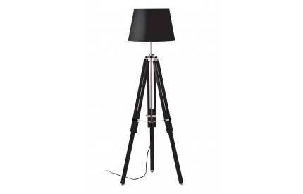Martino Floor Lamp Tripod Base Black