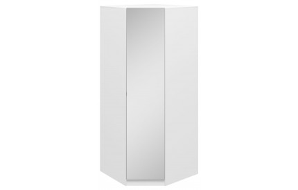 Orio Corner Mirrored Wardrobe