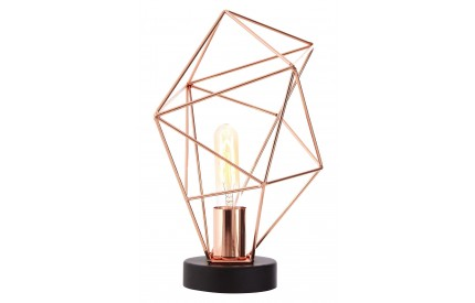Wyra Table Lamp Copper Finish