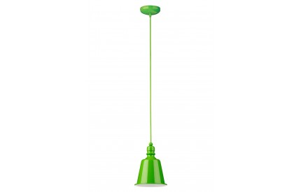 Pagoda Pendant Light Lime Green
