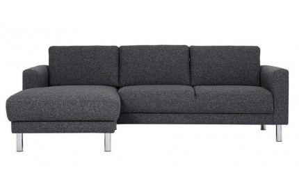 Cleveland Chaiselongue Sofa (LH) in Nova Antracit