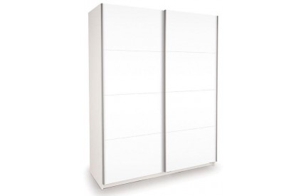Vermont White Slider High Gloss White Doors