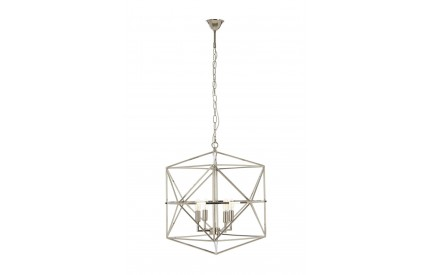 Kamara Chandelier Nickel Plated Stainless Steel