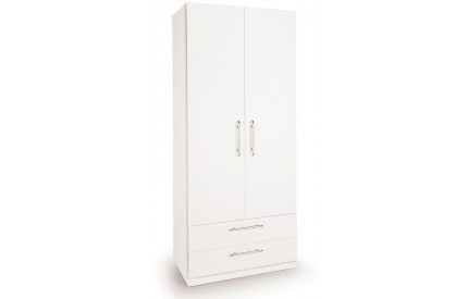 Arrow 2 Door 2 Drawer Wardrobe