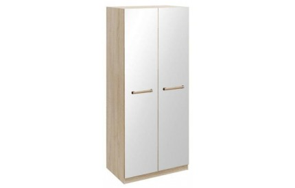 Loften 2 Door Mirrored Wardrobe