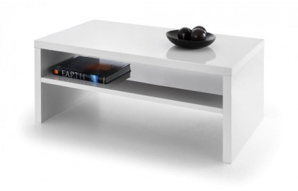 Metro High Gloss Coffee Table White
