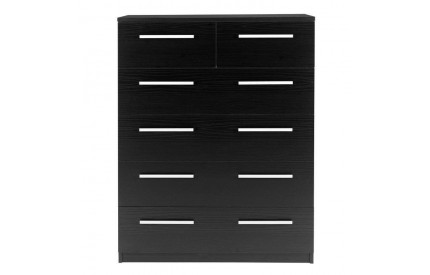 Designa 2+4 Chest of Drawers Black