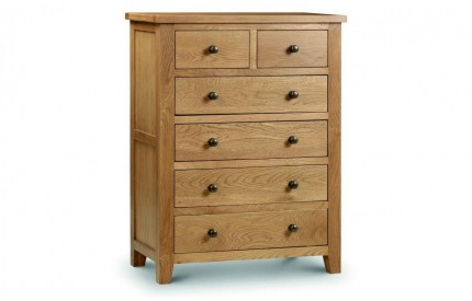 Marlborough 4+2 Drawer Chest of Drawers Assembled