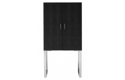 Sea Modern Black Shark Skin Sideboard Cabinet