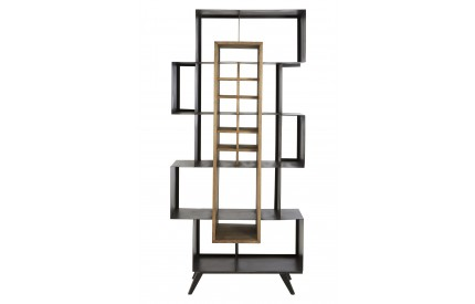 Mason Shelf Unit Pine Wood / Iron Frame