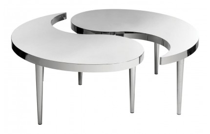 Premium Coffee Table Stainless Steel