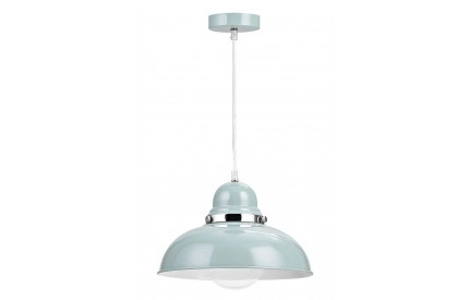 Alps Pendant Light Shutter Blue Chrome