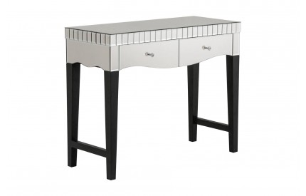 Regan Console Table MDF / Mirrored Finish 2 Drawers