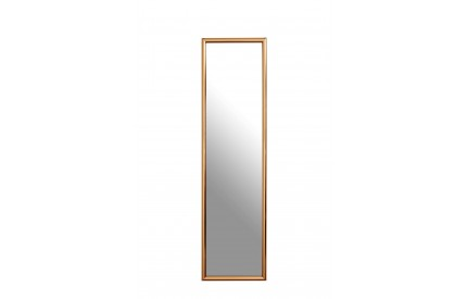 Over Door Mirror Copper Plastic Frame